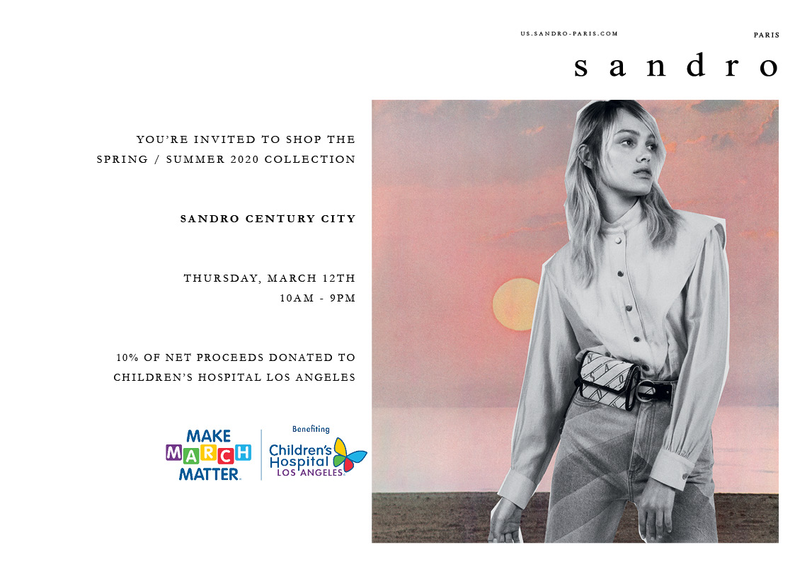 Sandro SS20 - Make March Matter