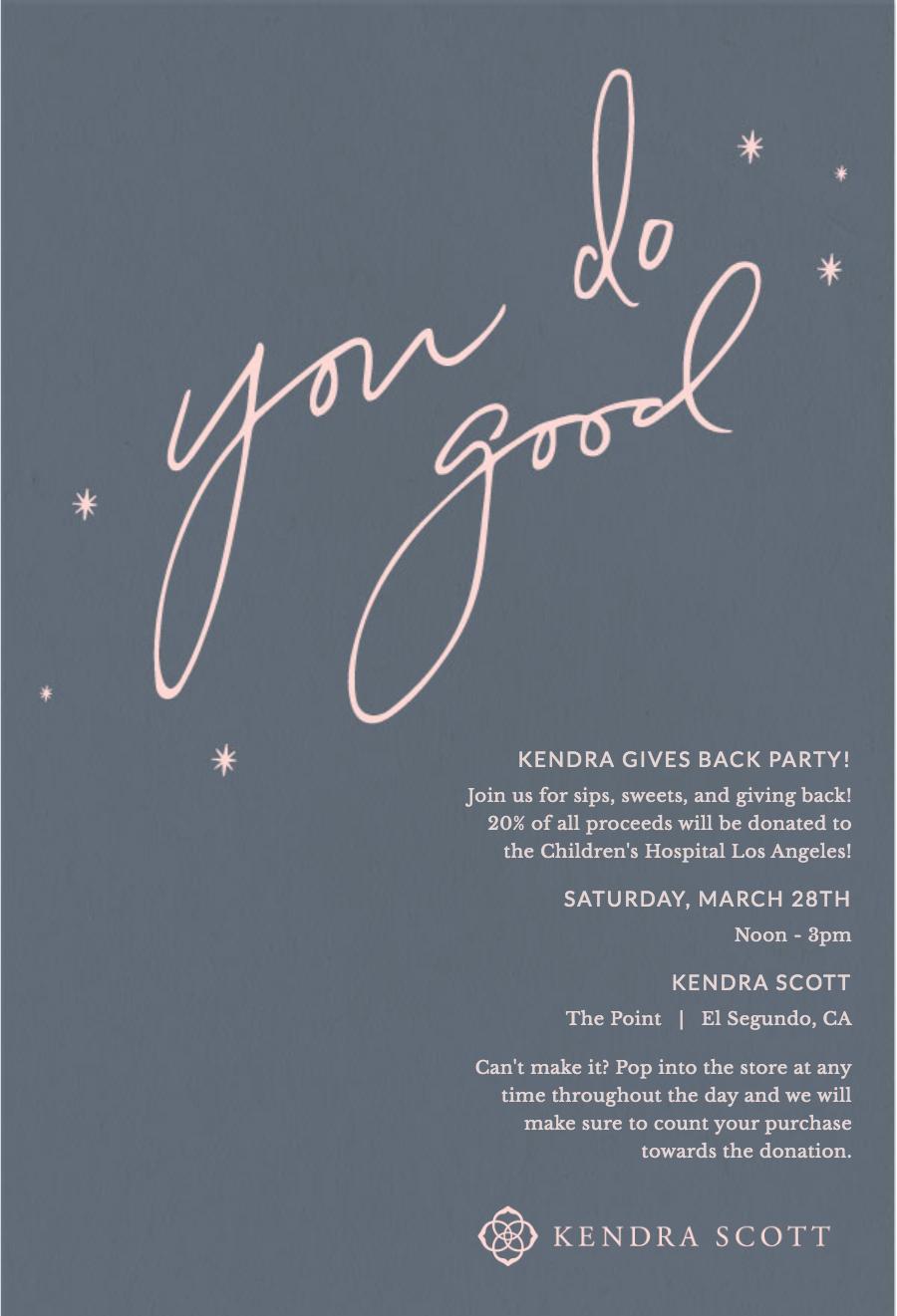 Kendra CHLA invite 2