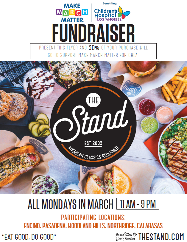 The Stand flyer