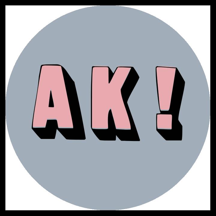 AK circle Logo