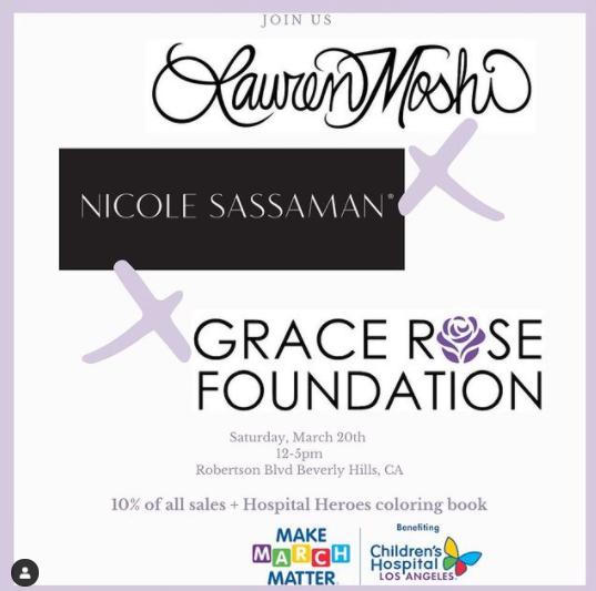 Grace Rose shopping