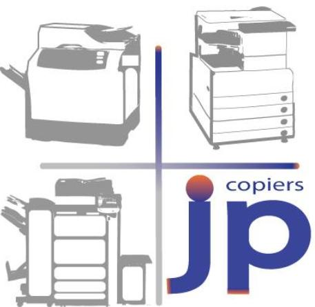 JP Copiers logo