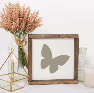Palette & Pine butterly