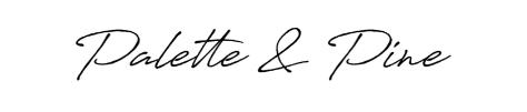 Palette & Pine logo